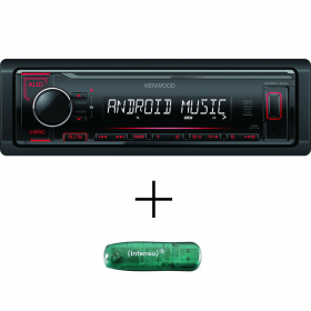 Kenwood KMM-104RY + 8 GB USB Флаш памет